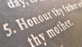 Honor Parents graphic