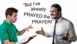 Sinner's Prayer graphic