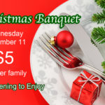 Christmas Banquet Ticket image