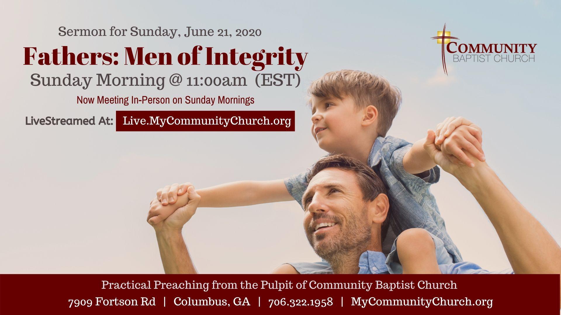 Father's Day Sermon graphic